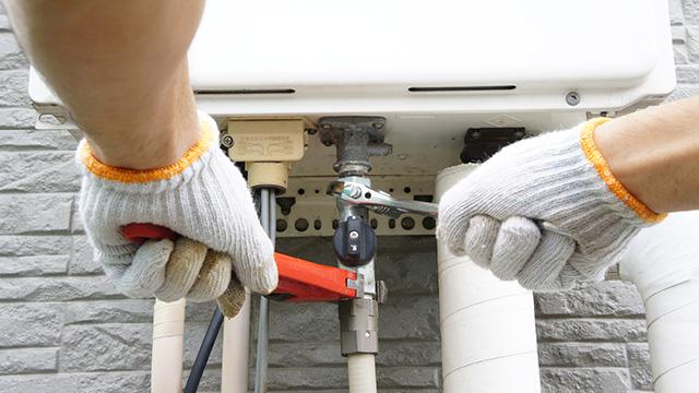 給湯器の配管工事について